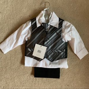 Tots Fifth Avenue Matching Sets - Tots Fifth Avenue Toddler 4 Piece Suit NWT